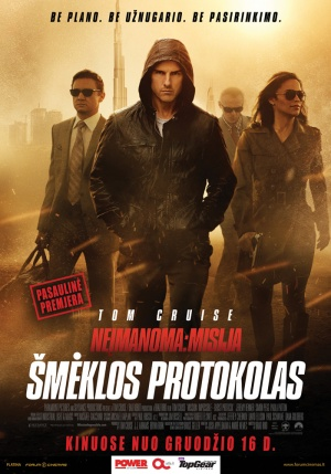 Mission: Impossible - Ghost Protocol 700x1000