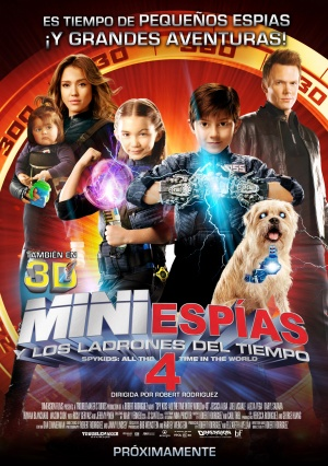 Spy Kids 4: All the Time in the World 1387x1969
