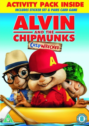 Alvin and the Chipmunks: Chipwrecked 1059x1500