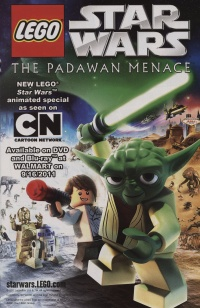 Lego Star Wars: The Padawan Menace poster