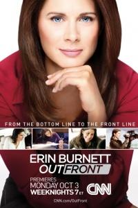 Erin Burnett OutFront poster