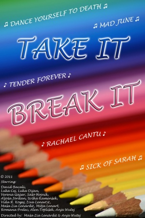 Take It/Break It Poster