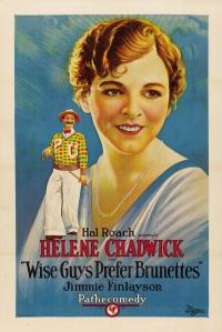 Wise Guys Prefer Brunettes poster