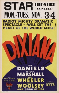 Dixiana poster