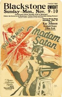 Madam Satan poster