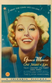 One Night of Love poster