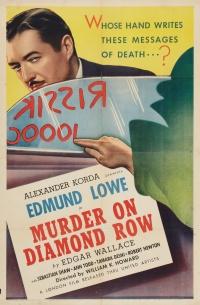 Murder on Diamond Row poster