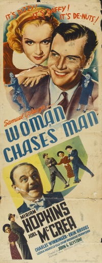 Woman Chases Man poster