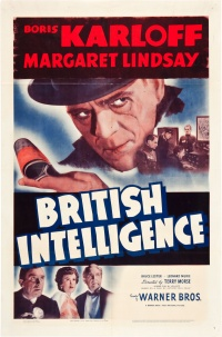 British Intelligence poster