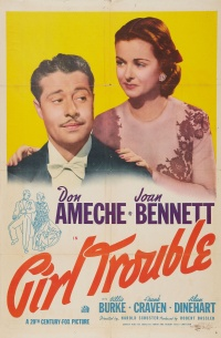Girl Trouble poster