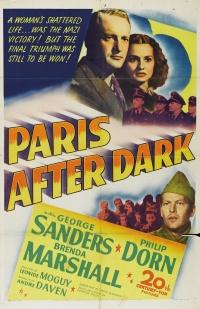 Paris After Dark poster