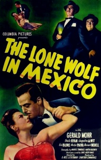 The Lone Wolf in Mexico poster