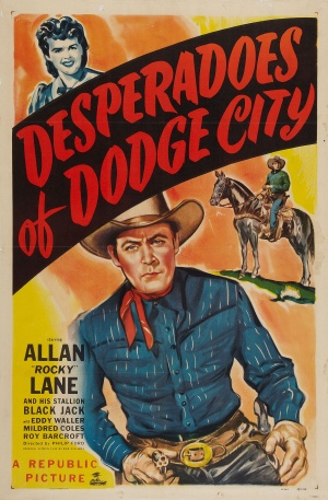 Desperadoes of Dodge City Poster