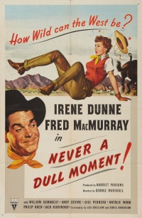 Never a Dull Moment poster