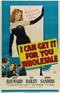 I Can Get It for You Wholesale poster