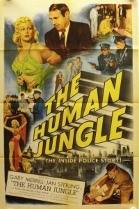 The Human Jungle poster