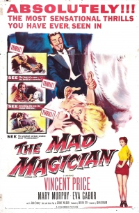 The Mad Magician poster