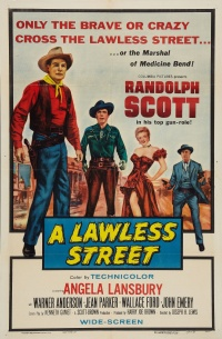 A Lawless Street poster