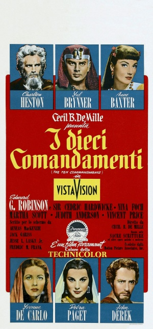 The Ten Commandments Theatrical poster