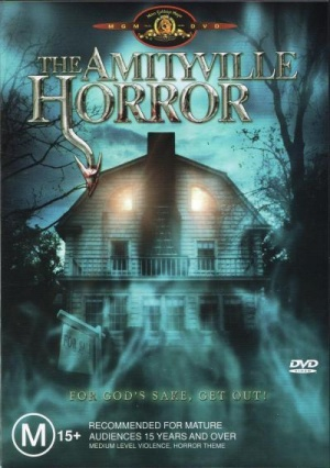 The Amityville Horror Dvd cover