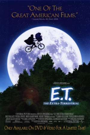 E.T.: The Extra-Terrestrial Video release poster