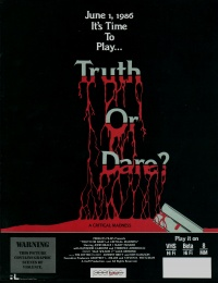 Truth or Dare?: A Critical Madness poster