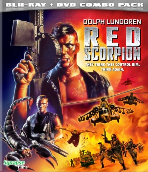 Red Scorpion Blu-ray cover