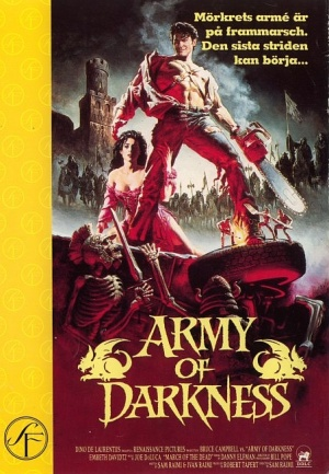 Army Of Darkness Dvd cover