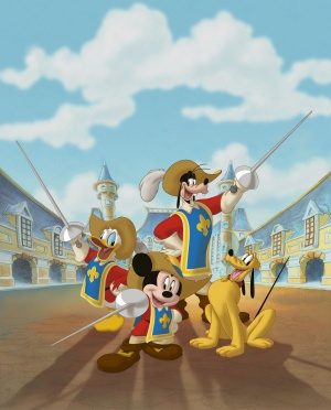 Mickey, Donald, Goofy: The Three Musketeers 1800x2234
