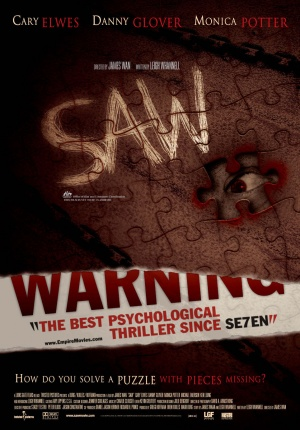 Saw Theatrical poster