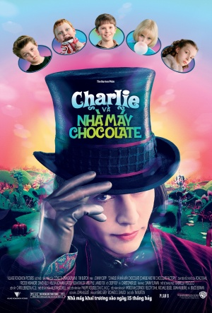 Charlie and the Chocolate Factory 3385x5000