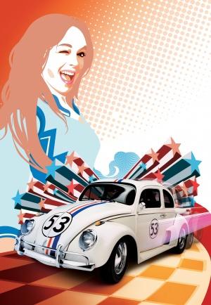 Herbie Fully Loaded - Ein toller Käfer startet durch 3453x5000