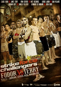 Strikeforce Challengers poster