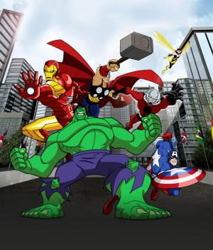 The Avengers: Earth's Mightiest Heroes 1593x1865
