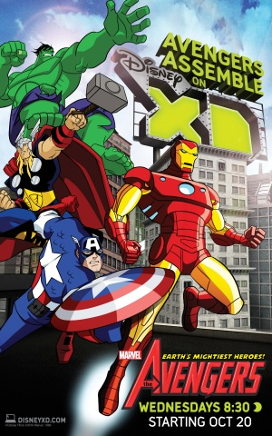 The Avengers: Earth's Mightiest Heroes 1350x2160