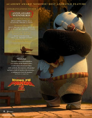 Kung Fu Panda 2 600x770