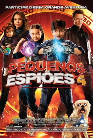 Spy Kids 4: All the Time in the World 1013x1500