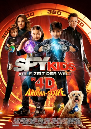 Spy Kids 4: All the Time in the World 1130x1600