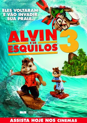 Alvin and the Chipmunks: Chipwrecked 2480x3508