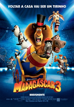 Madagascar 3: Europe's Most Wanted 1232x1772