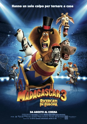 Madagascar 3: Europe's Most Wanted 1653x2362