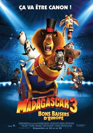 Madagascar 3: Europe's Most Wanted 3525x5000