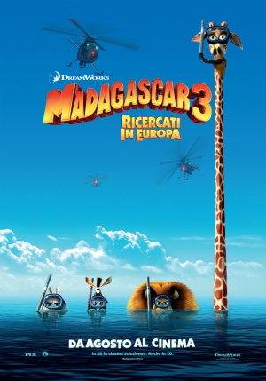 Madagascar 3: Europe's Most Wanted 1433x2048