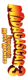 Madagascar 3: Europe's Most Wanted Logo