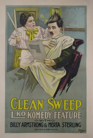 A Clean Sweep Poster