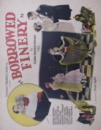Borrowed Finery poster