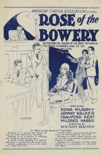 Rose of the Bowery poster