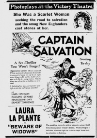 Captain Salvation poster