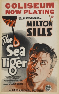 The Sea Tiger poster