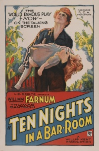 Ten Nights in a Bar-Room poster